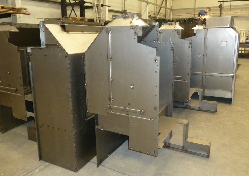 Sub -Contract Steel Fabrications
